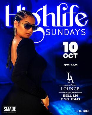 Highlife Sundays OCT 10
