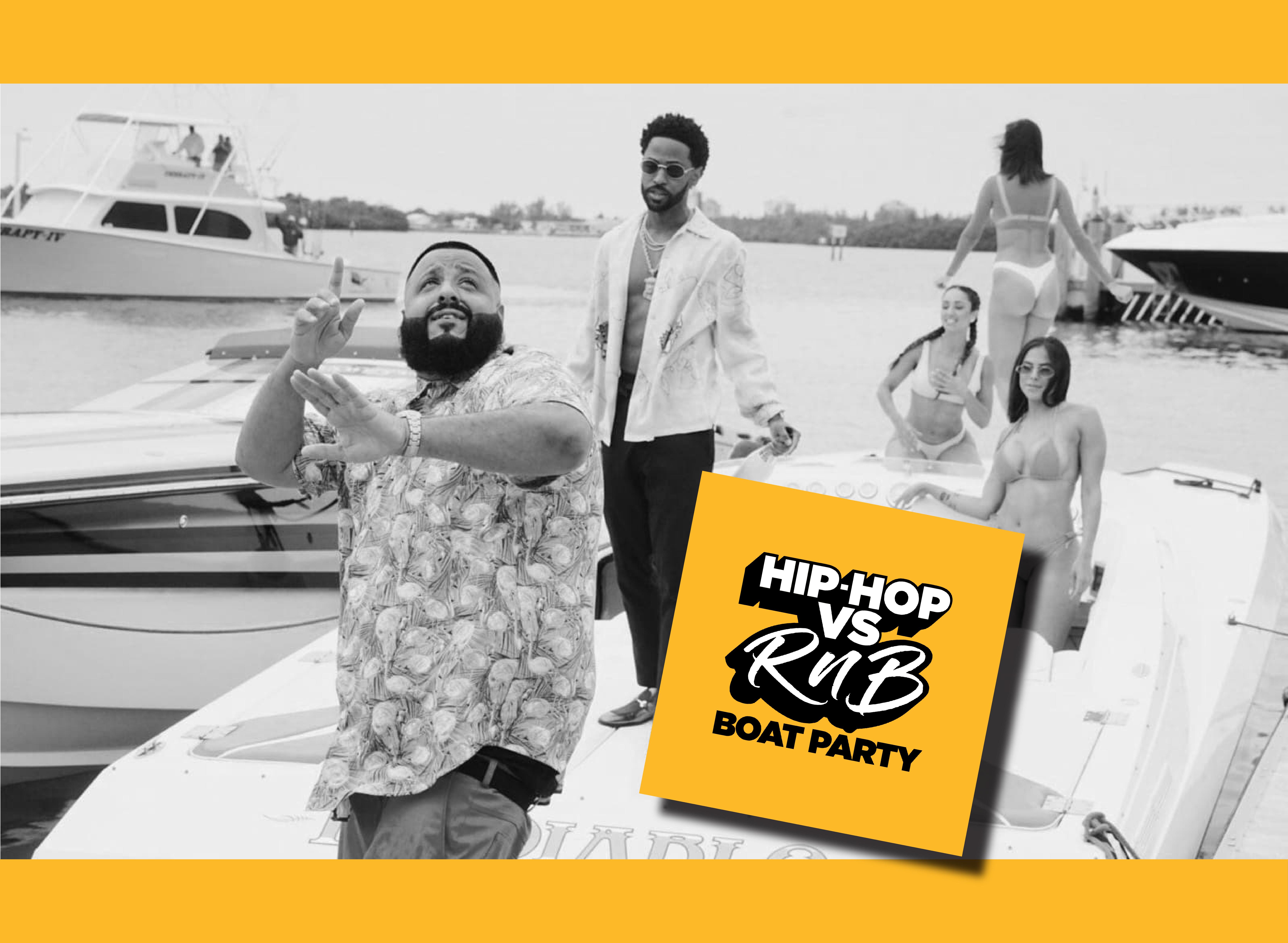 Hip-Hop vs RnB Boat Party - Bank Holiday