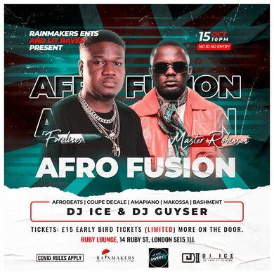 Ruby Lounge Fridays - Afro Fusion