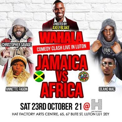 JAMAICA vs AFRICA Comedy LUTON: WAHALA