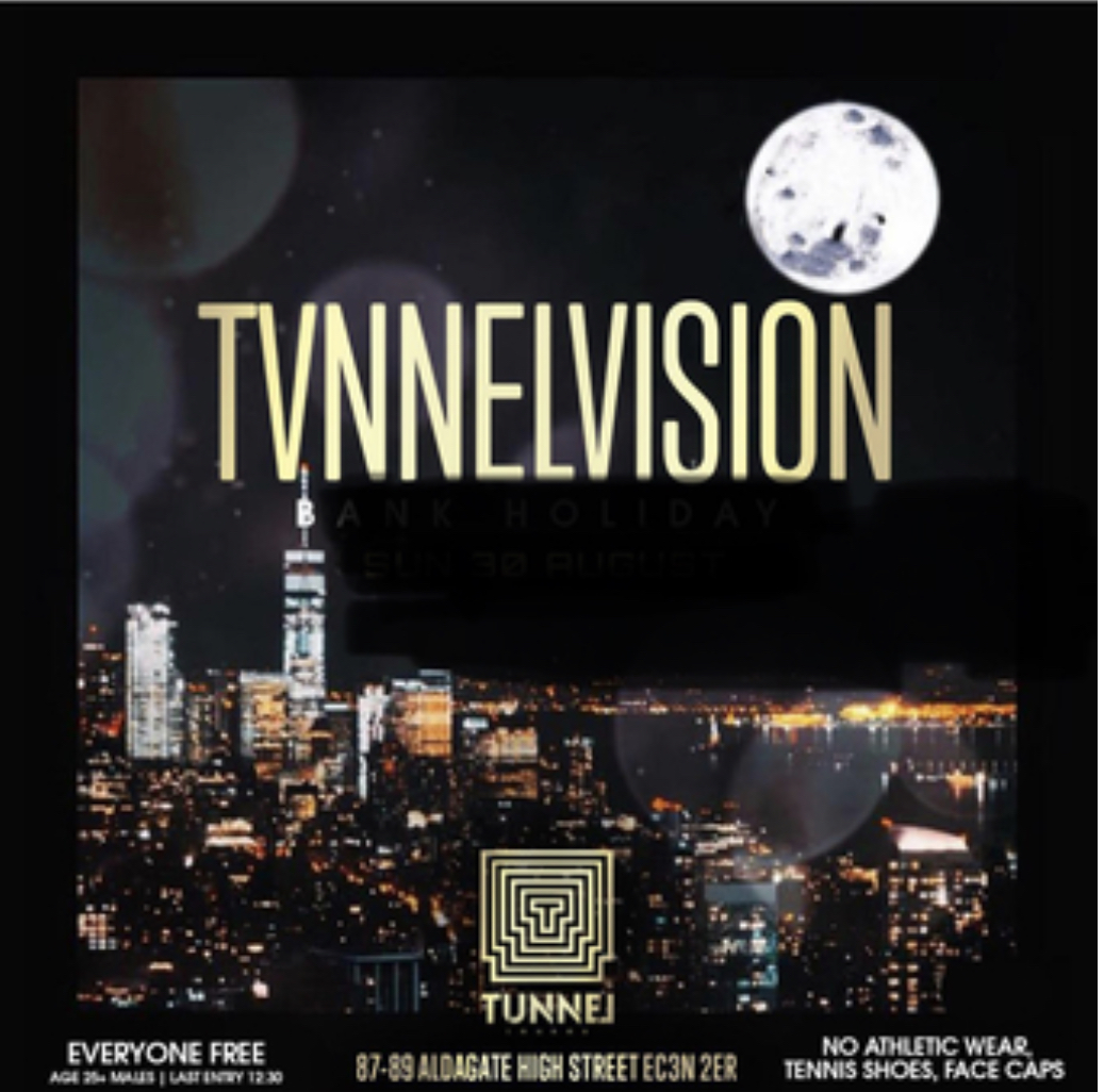 Tvnnel Vision - City Party