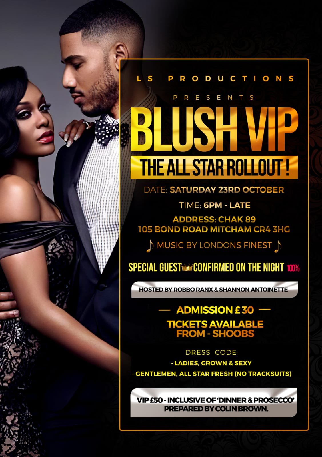 BLUSH VIP