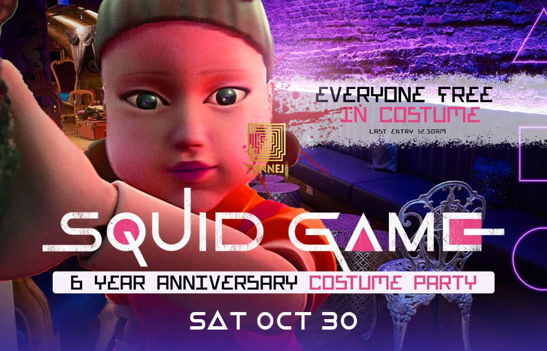 Tunnel Costume Party 'Squid Game'