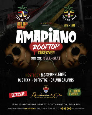 Amapiano Rooftop Takeover - Southampton (Island Ting)