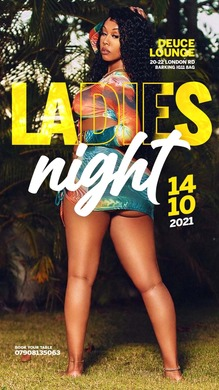 LADIES NIGHT EVERY THURSDAY AT DEUCE LOUNGE
