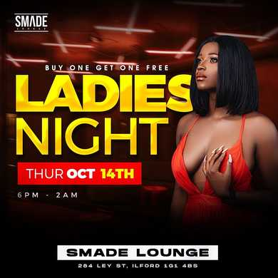 Ladies Night OCT 14