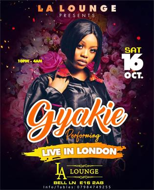 OctoberFest ♛ AFROBEATS ARTIST GYAKIE (Forever) PERFORMING LIVE ♛