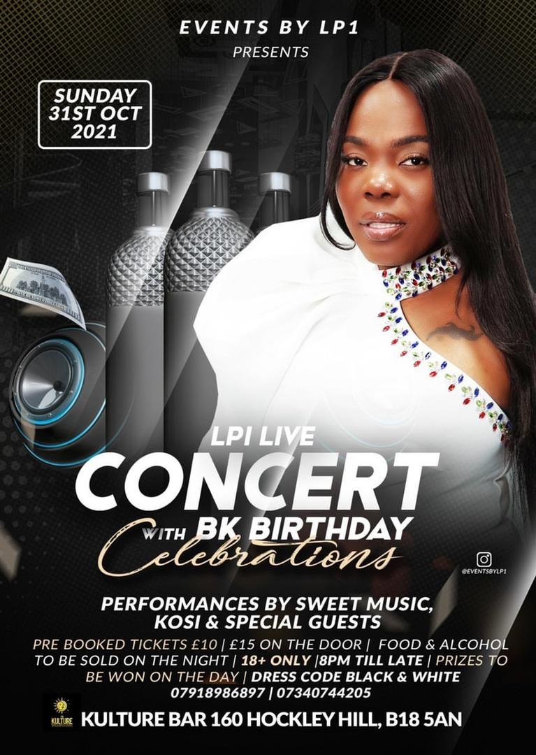LP1 LIVE CONCERT- with BK BIRTHDAY CELEBRATION