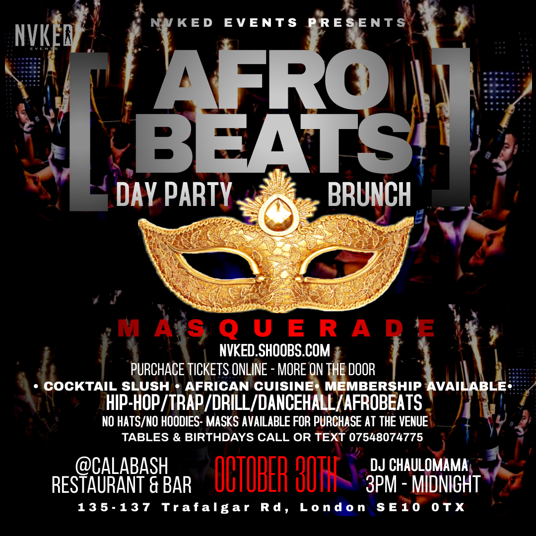 AFRO BEATS DAY PARTY BRUNCH