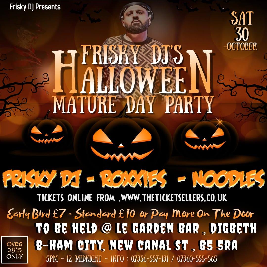 Frisky DJs Halloween Day Party