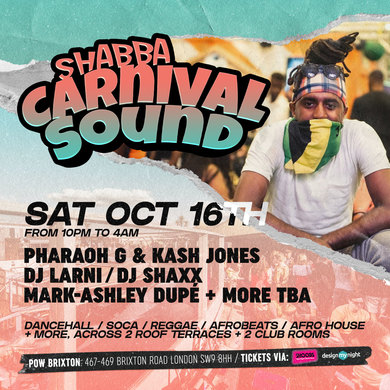 CARNIVAL SOUND - BRIXTON ROOFTOP PARTY
