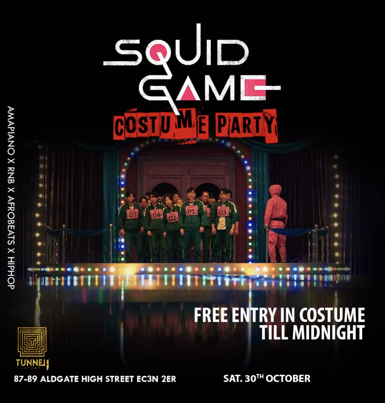 The Squid Game Costume Party