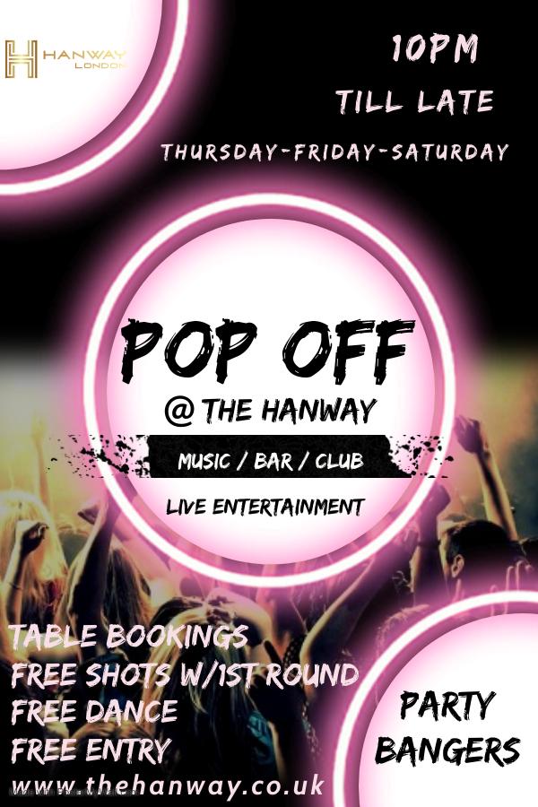 Pop Off - Fridays