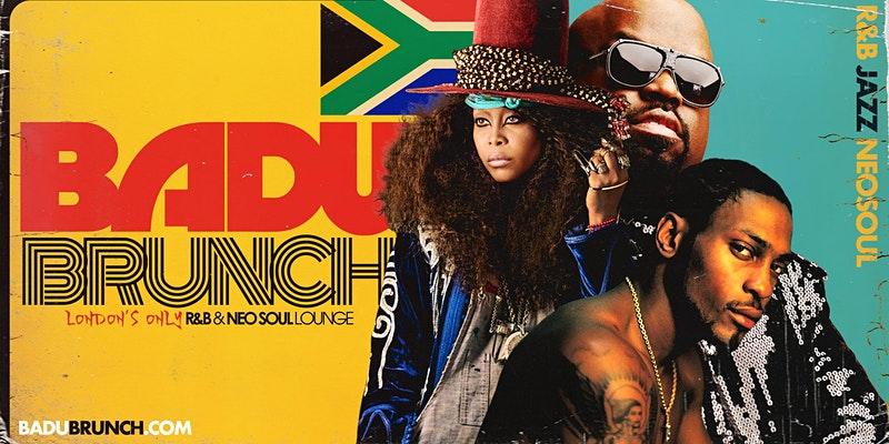 BADU Brunch (Neo Soul + RnB Lounge)
