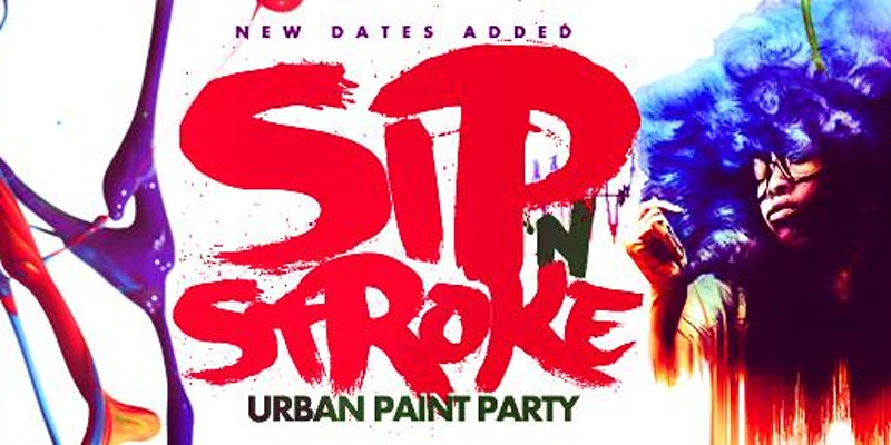 SIP 'N STROKE (1pm-4pm) Sip and Paint