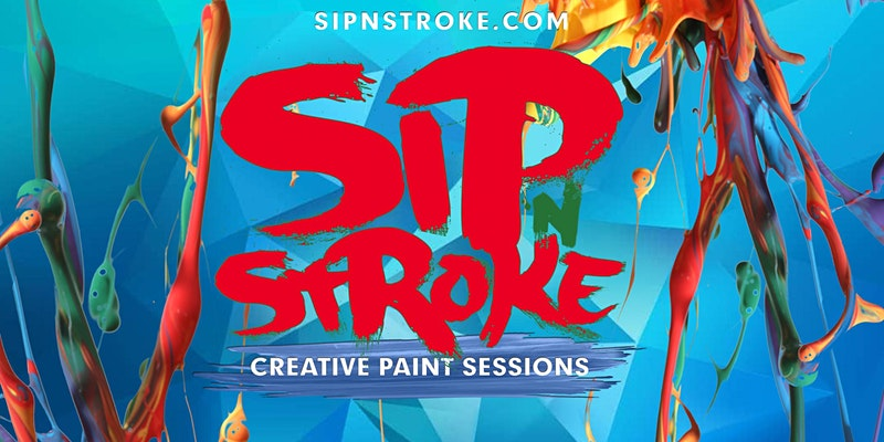 *SOLD OUT* SIP 'N STROKE (5pm-8pm) Sip and Paint