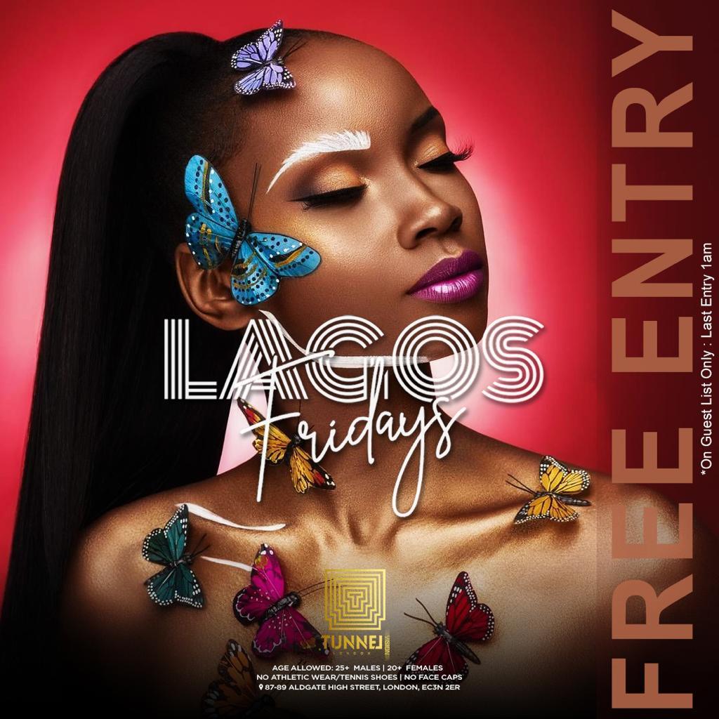 Lagos Fridays @ Tunnel