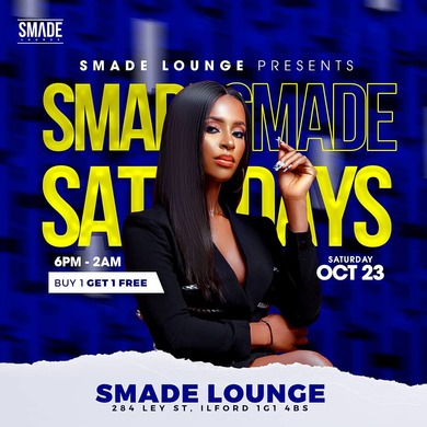SMADE Saturdays OCT 23 #BlackHistoryMonth