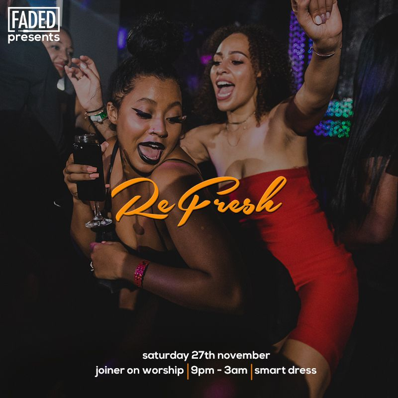 Faded presents Refresh