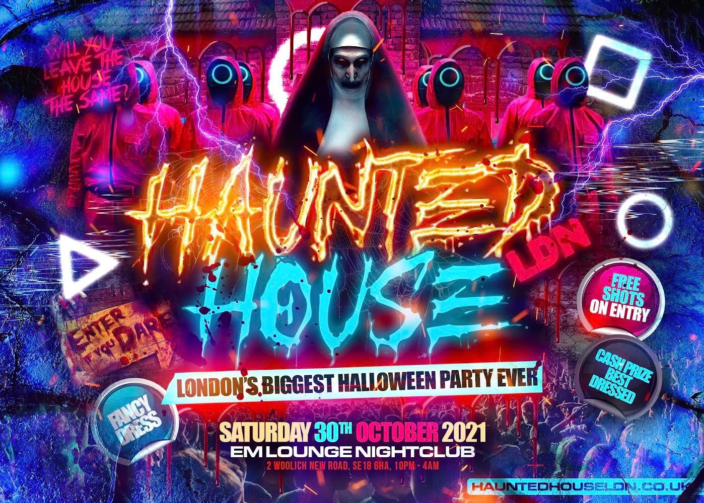 Haunted House LDN – Halloween Party