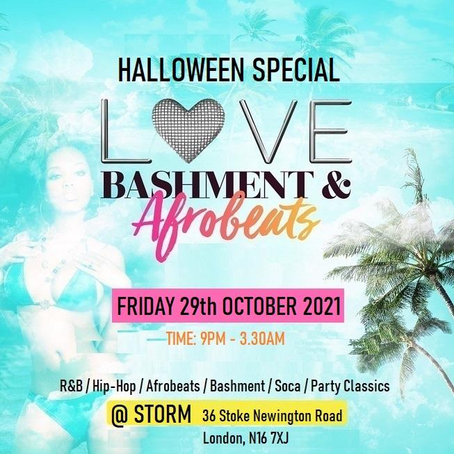 Bashment & Afrobeats Halloween Party